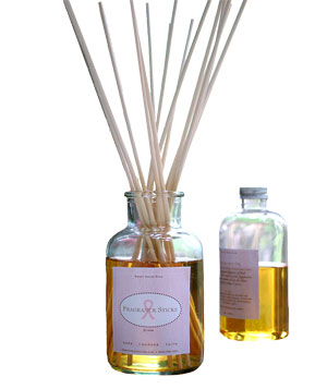 Sweet Grass Carnation & Pink Peppercorn Fragrance Sticks