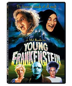 """Young Frankenstein"" DVD"