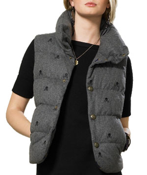 Rugby Puffer Vest