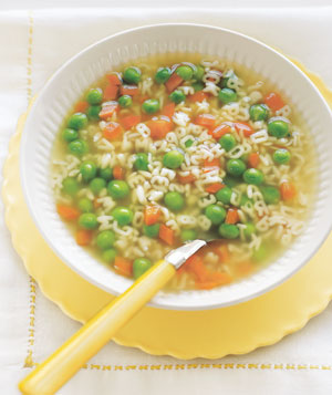 50 family recipes kids actually like real simple peas and carrots alphabet soup forumfinder Image collections