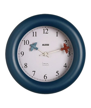 Alessi Kitchen Clock by Michael Graves