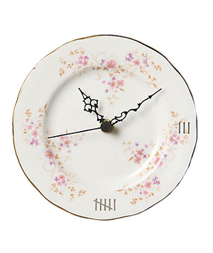 Anthropologie Clock by China Cabinet