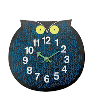 Omar the Owl Clock by George Nelson