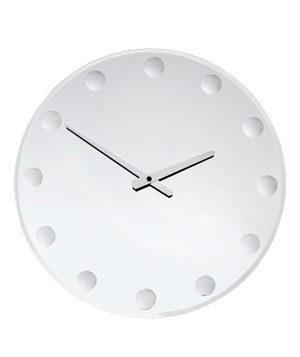 Mirrored Wall Clock by Z Gallerie