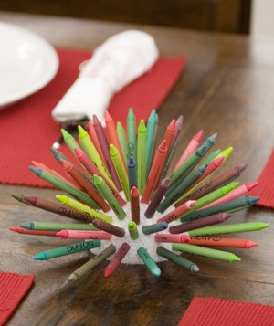 Crayon Bouquet Centerpiece