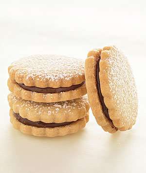 Chocolate-Hazelnut Sandwiches