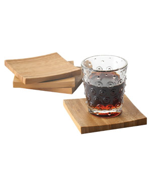 Bamboo Coasters by Our Green House