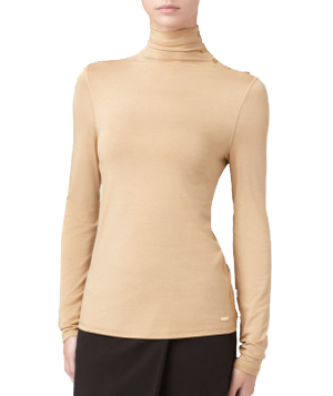 Calvin Klein Gold Turtleneck