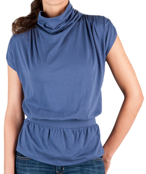 Lilla P Pima Turtleneck