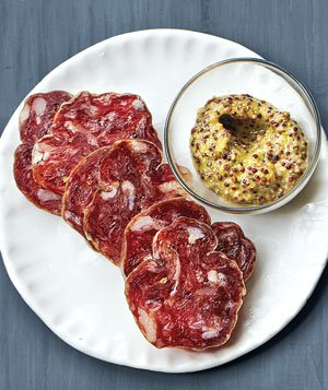 Sopressata With Grainy Mustard
