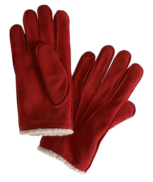 Suede Gloves by Gap