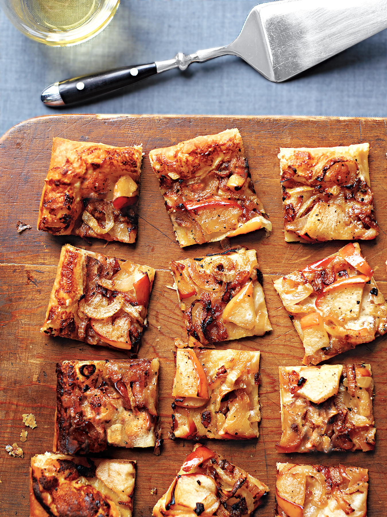 40 easy elegant recipes for christmas dinner real simple caramelized onion tarts with apples forumfinder Gallery