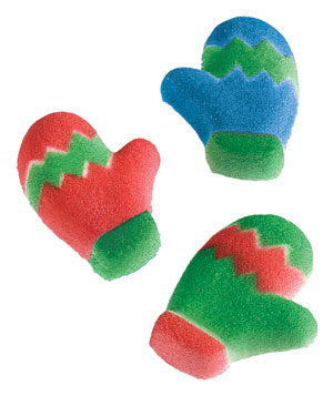 King Arthur Flour Mitten Sugar Decorations