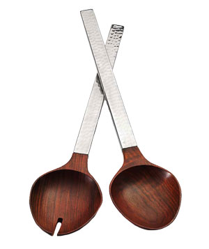 Valencia Salad Servers by Mary Jurek Design