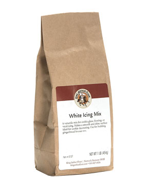King Arthur Flour White Icing Mix