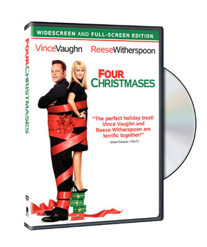 """Four Christmases"" on DVD"