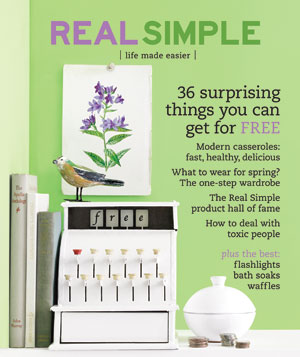 Real Simple Cover:  March 2007