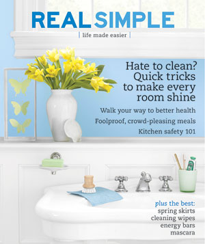 Real Simple Cover:  April 2007