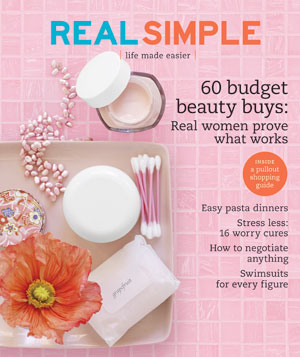Real Simple Cover: May 2007