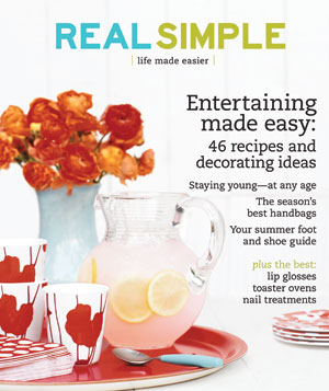 Real Simple Cover:  June 2007