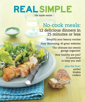 Real Simple Cover:  August 2007