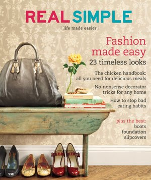 Real Simple Cover:  September 2007