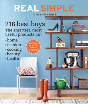 Real Simple Cover:  January 2008