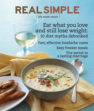 Real Simple Cover:  February 2008