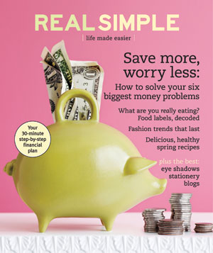 Real Simple Cover:  March 2008