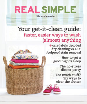 Real Simple Cover:  April 2008