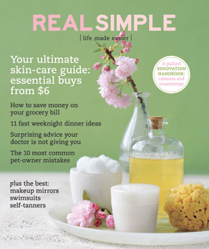 Real Simple Cover:  May 2008