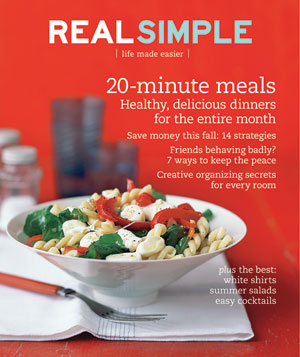 Real Simple Cover:  August 2008