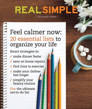 Real Simple Cover:  January 2009