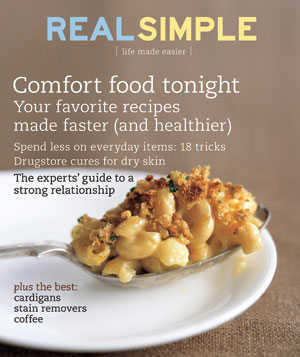 Real Simple Cover:  February 2009