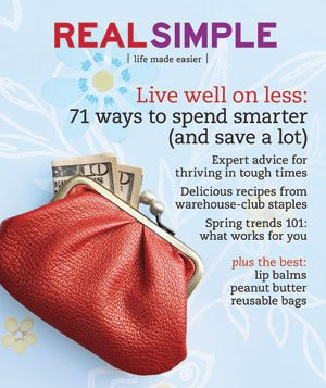 Real Simple Cover:  March 2009