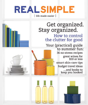 Real Simple Cover:  June 2009