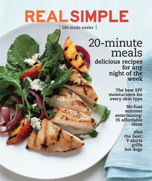 Real Simple Cover:  July 2009