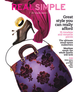 Real Simple Cover:  September 2009