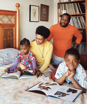 Mavis Fowler-Williams and family
