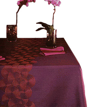Ambre Tablecloth by Gracious Home