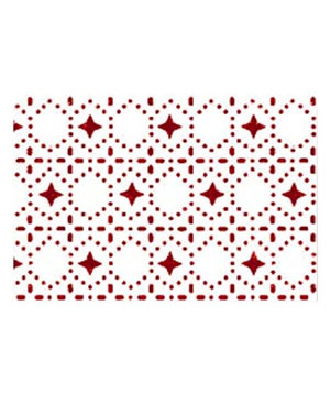 Red Dots Tablecloth by Plover Organic