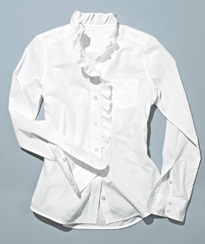 Gap white button up shirt