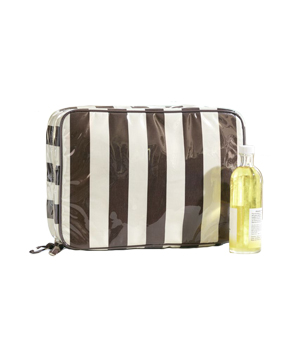 Pottery Barn Vilamoura Stripe Ultimate Cosmetic Bag
