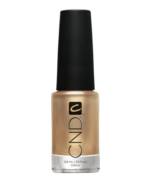 CND Colour Nail Polish in Gold Chrome
