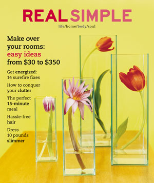Real Simple April 2002 cover