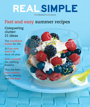 Real Simple August 2002 cover