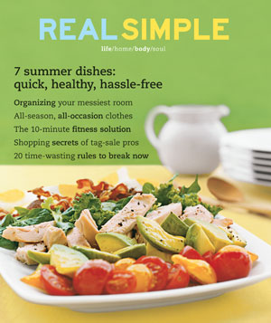 Real Simple August 2003 cover
