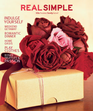 Real Simple February 2001 cover