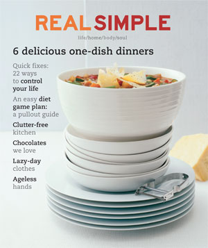 Real Simple February 2002 cover