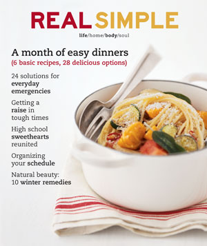 Real Simple February 2003 cover
